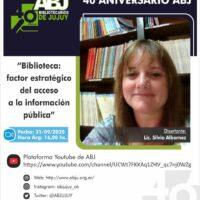 Ciclo de conferencias 40 aniversario ABJ